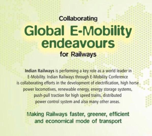 E-Mobility in Indian Railways
